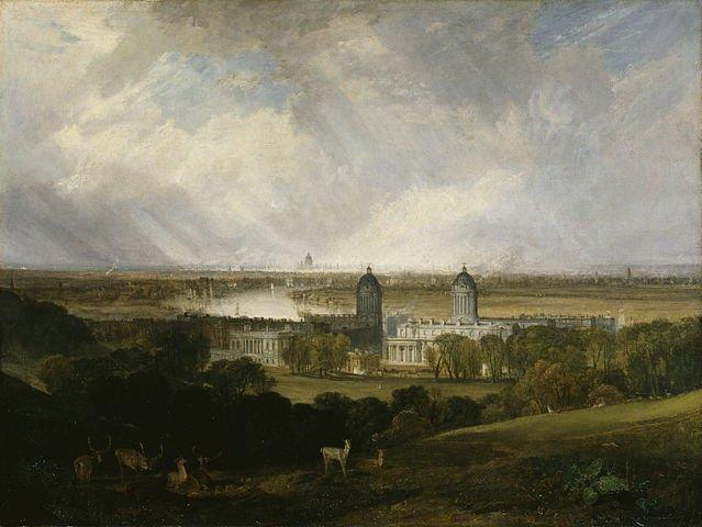 Greenwich Hospital in 1809