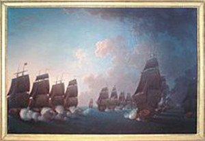 212px-Combat_de_la_Dominique_17_Avril_1780_Rossel_de_Cercy_1736_1804