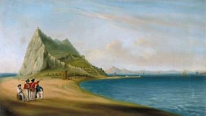640px-John_Mace_-_North_View_of_Gibraltar_from_Spanish_Lines