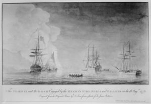 lossy-page1-640px-The_Phoenix_and_the_Rose_engaged_by_the_enemy's_fire_ships_and_galleys_on_Aug._16,_1776,_08-16-1776_-_NARA_-_532907.tif