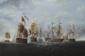 Epworth became a prisoner to the French for a second time in 1794 when HMS Alexander was captured by a superior squadron.