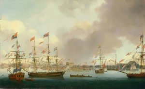 640px-john_cleveley_the_younger_launch_of_hms_alexander_at_deptford_in_1778