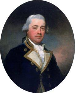 Captain John Harvey (1740-1794) *oil on canvas *73.5 x 61 cm *late 18th century - early 19th century